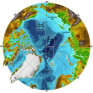 North-pole-map