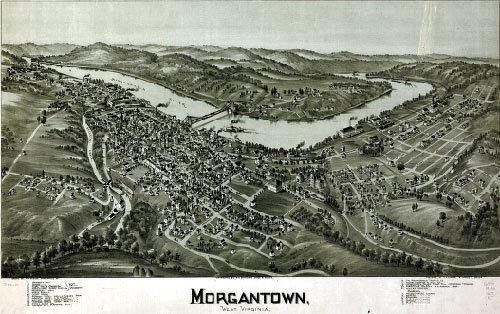 Morgantownmap